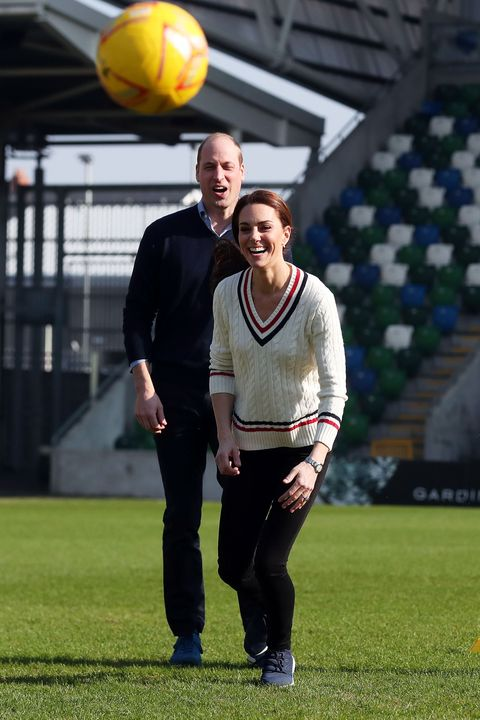eaf5dc7387cd Duke And Duchess Of Cambridge Visit Northern Ireland - Day One