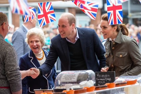 The Duke And Duchess Of Cambridge Visit Cumbria