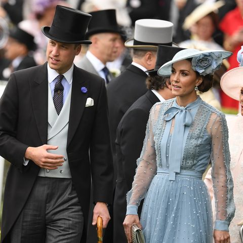 kate middleton prince william Royal Ascot 2019 - Day One