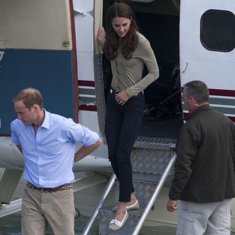 Kate Middleton's travel shoes