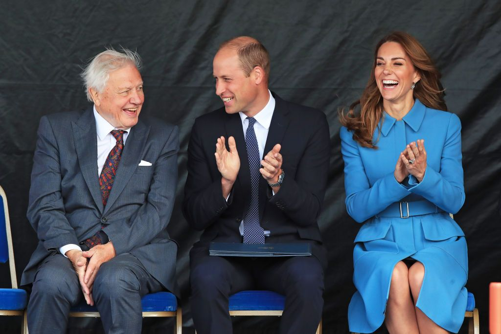 See Every Photo of Kate Middleton and Prince William at the Naming Ceremony for the RSS Sir David Attenborough