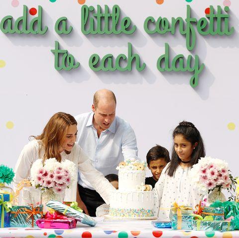 prince william kate middleton lahore pakistan children birthday party