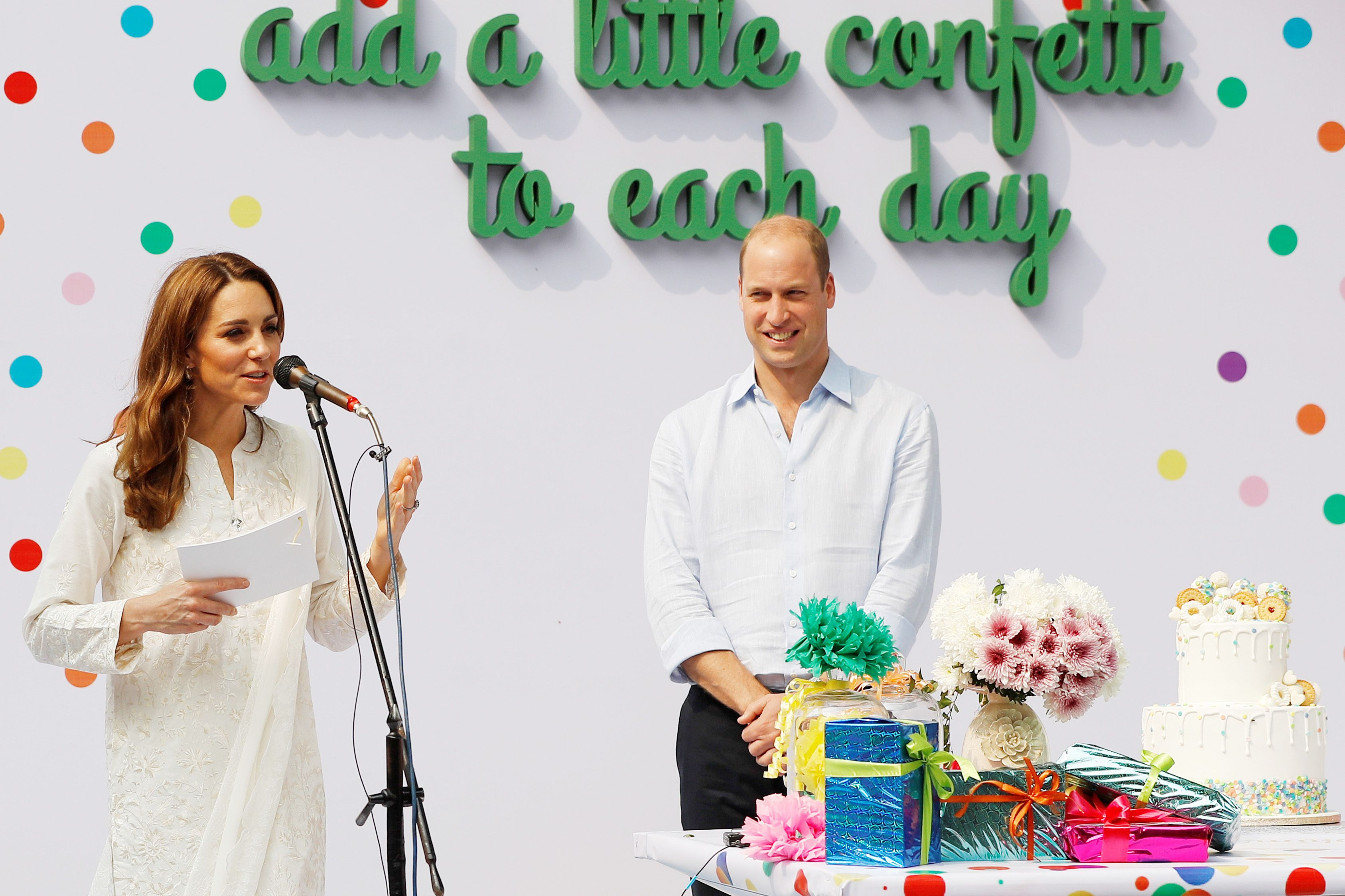 """Kate Middleton Delivers a Speech in Pakistan: """"It Takes a Village to Raise a Child"""""""