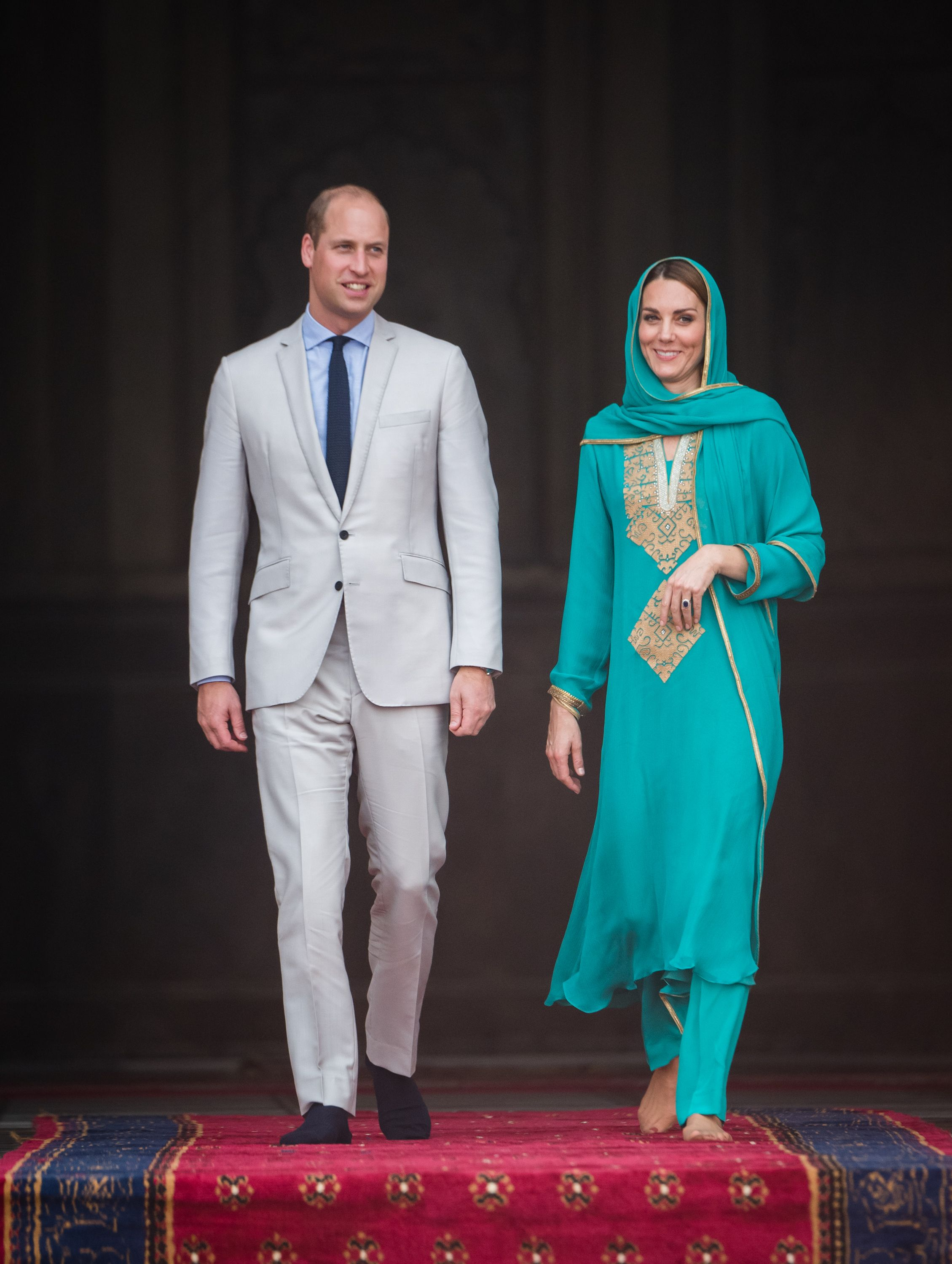 OMG, Prince William and Kate Middleton's Plane Was Forced to Turn Around Due to Lightning in Pakistan