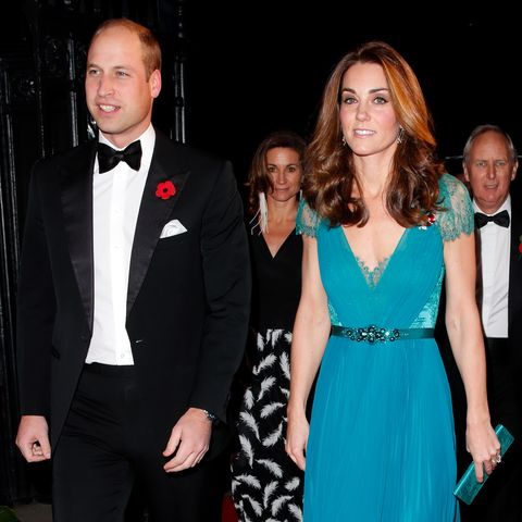 The Duke And Duchess Of Cambridge at last year's Tusk Awards