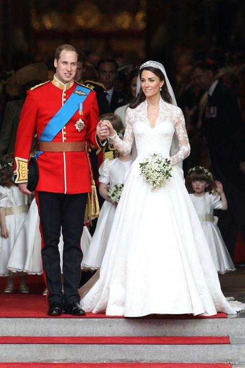 セレブ ウエディングドレス 2010年代 キャサリン妃 ロイヤルウエディング
