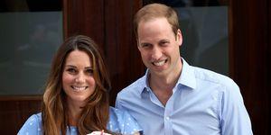 The Duke And Duchess Of Cambridge Prince George birth