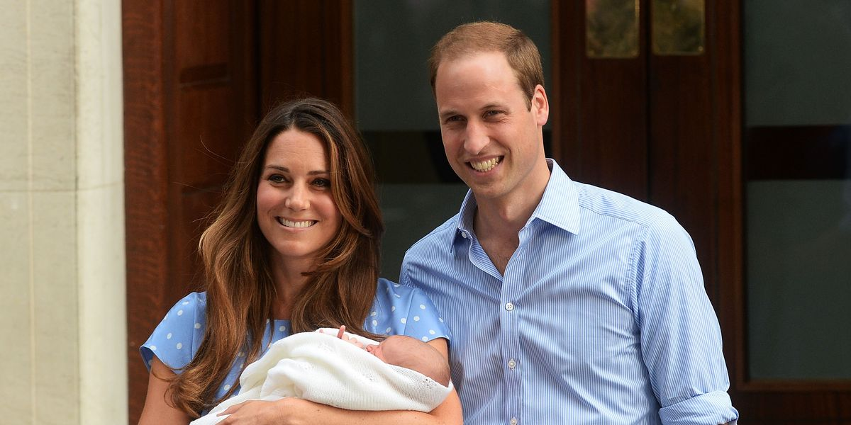 """Kate Middleton Admits It Was """"Slightly Terrifying"""" to Introduce Prince George Outside the Lindo Wing"""