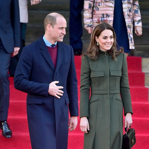 The Duke and Duchess of Cambridge thank NHS in touching phone call