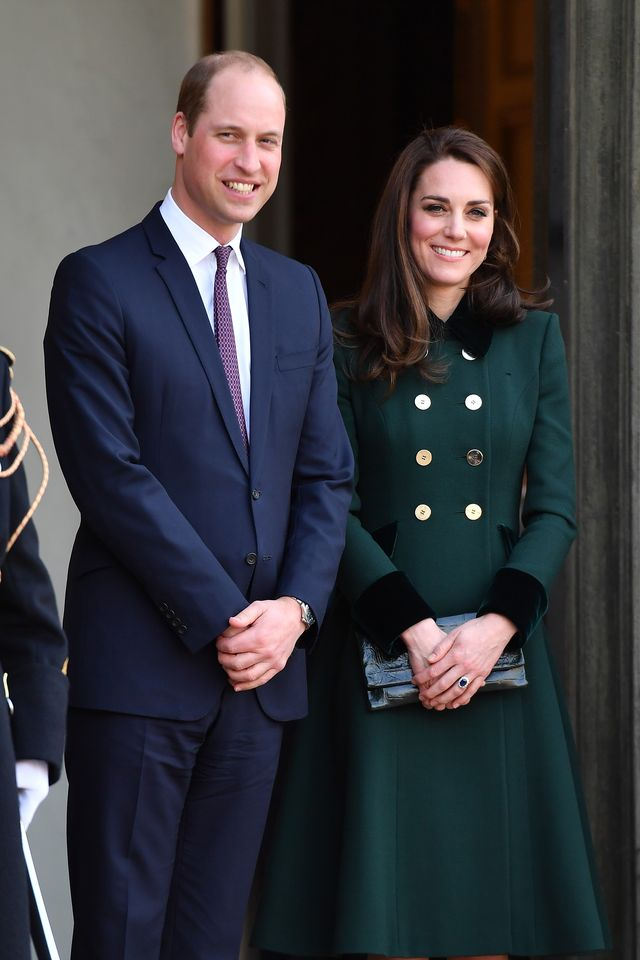 the duke and duchess of cambridge visit paris day one