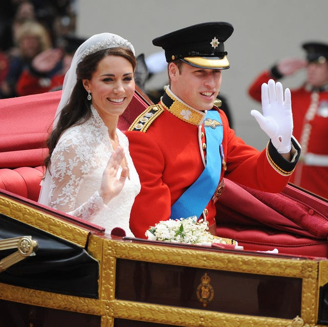 the wedding of prince william with catherine middleton   procession