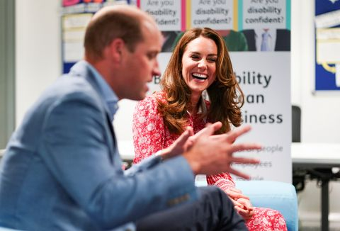 the duke and the duchess of cambridge undertake engagements in london