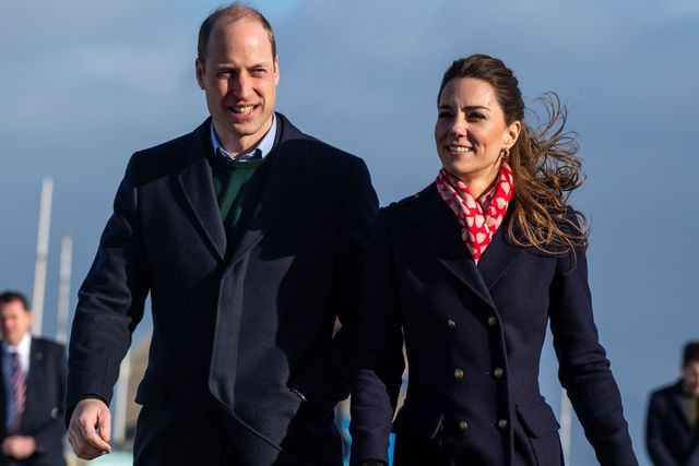 the duke and duchess of cambridge visit south wales