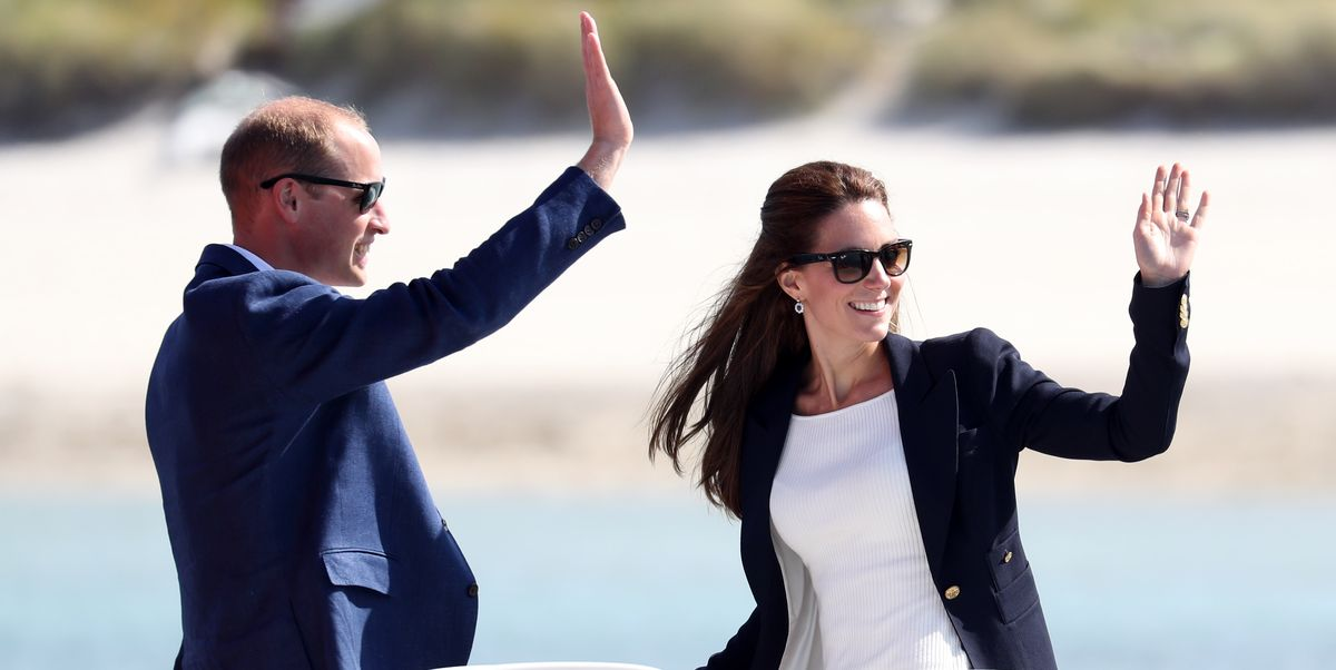 Kate Middleton, Prince William, and Their Kids Go on Vacation to the Isles of Scilly
