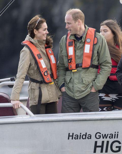 2016 royal tour to canada of the duke and duchess of cambridge haida gwaii, british columbia