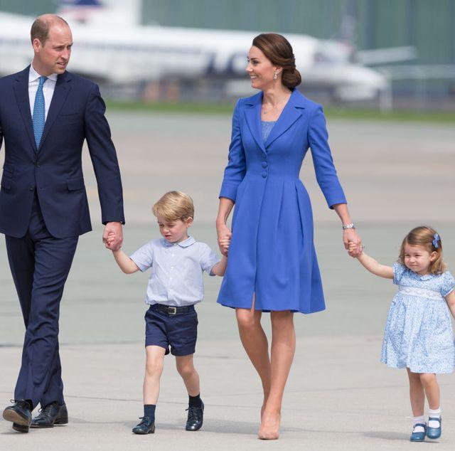 duke and duchess of cambridge leaves poland