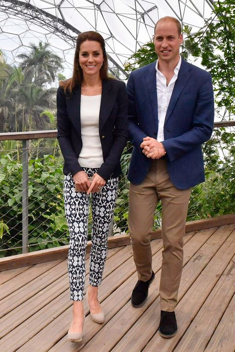 The Duke And Duchess Of Cambridge Visit Eden Project