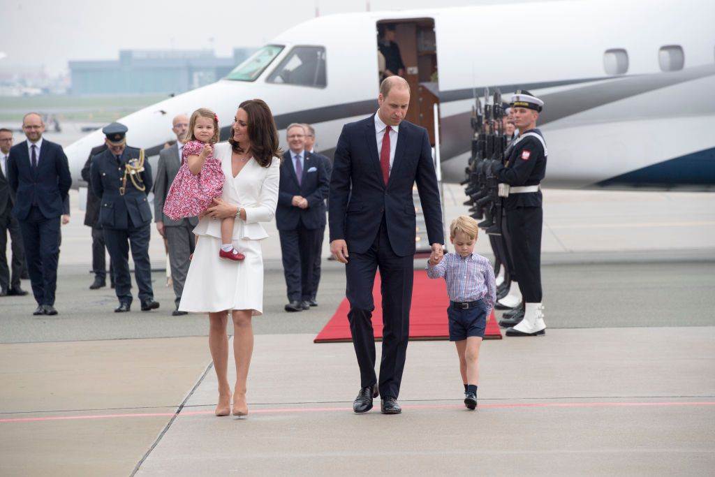 Kate Middleton, Prince William, and Kids Spotted on Budget Flight to Scotland