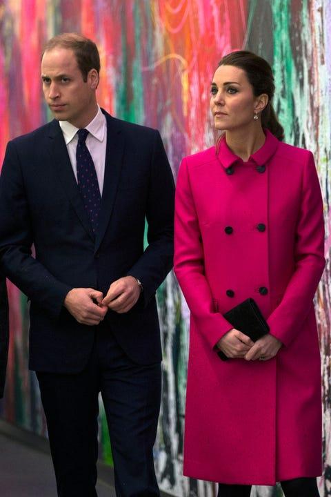 The Duke And Duchess Of Cambridge Visit The National September 11 Memorial Museum