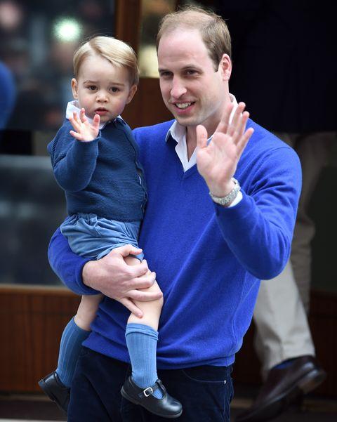ウィリアム王子 ジョージ王子 ロイヤルファミリー