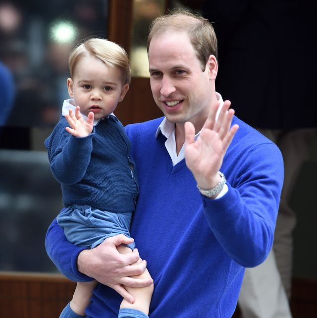 ウィリアム王子 ジョージ王子 そっくり 親子 ロイヤルファミリー