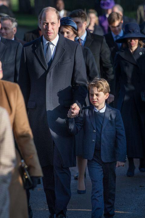 クリスマス礼拝2019、ジョージ王子、ウィリアム王子