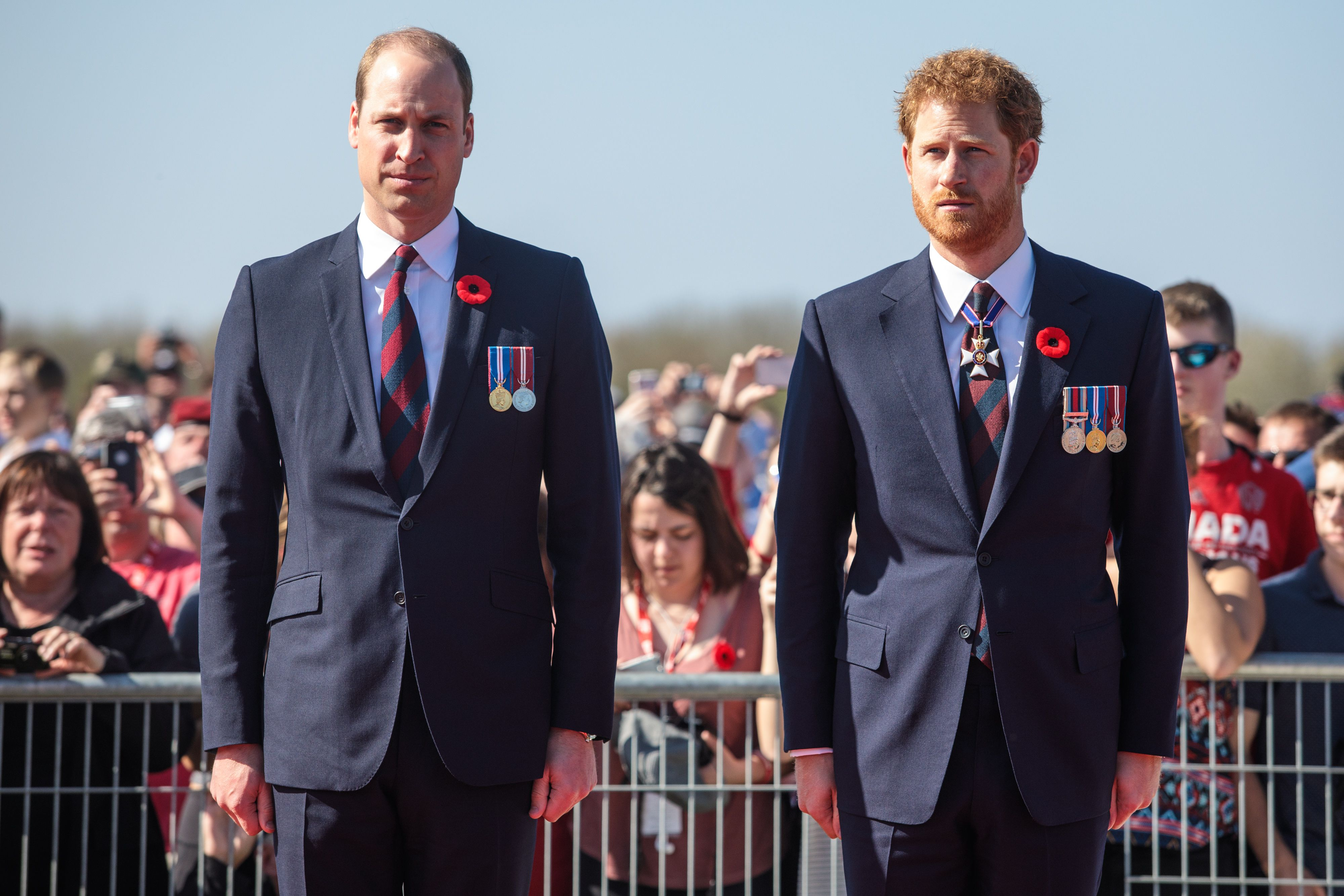 The Palace Confirms Prince Harry and Prince William Won't Walk Next to Each Other at Philip's Funeral
