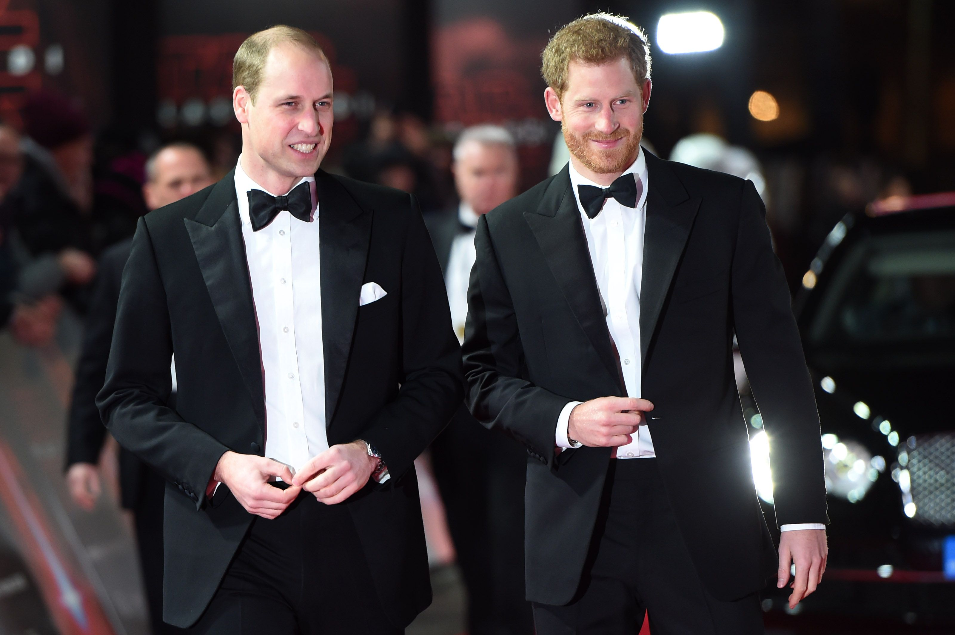 """Prince William expresses sadness that he and Harry are now """"separate entities"""""""
