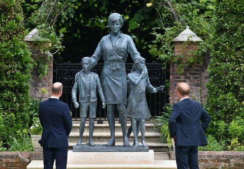 princess diana statue open to public