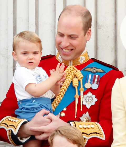 prince louis at trooping the colour 2019