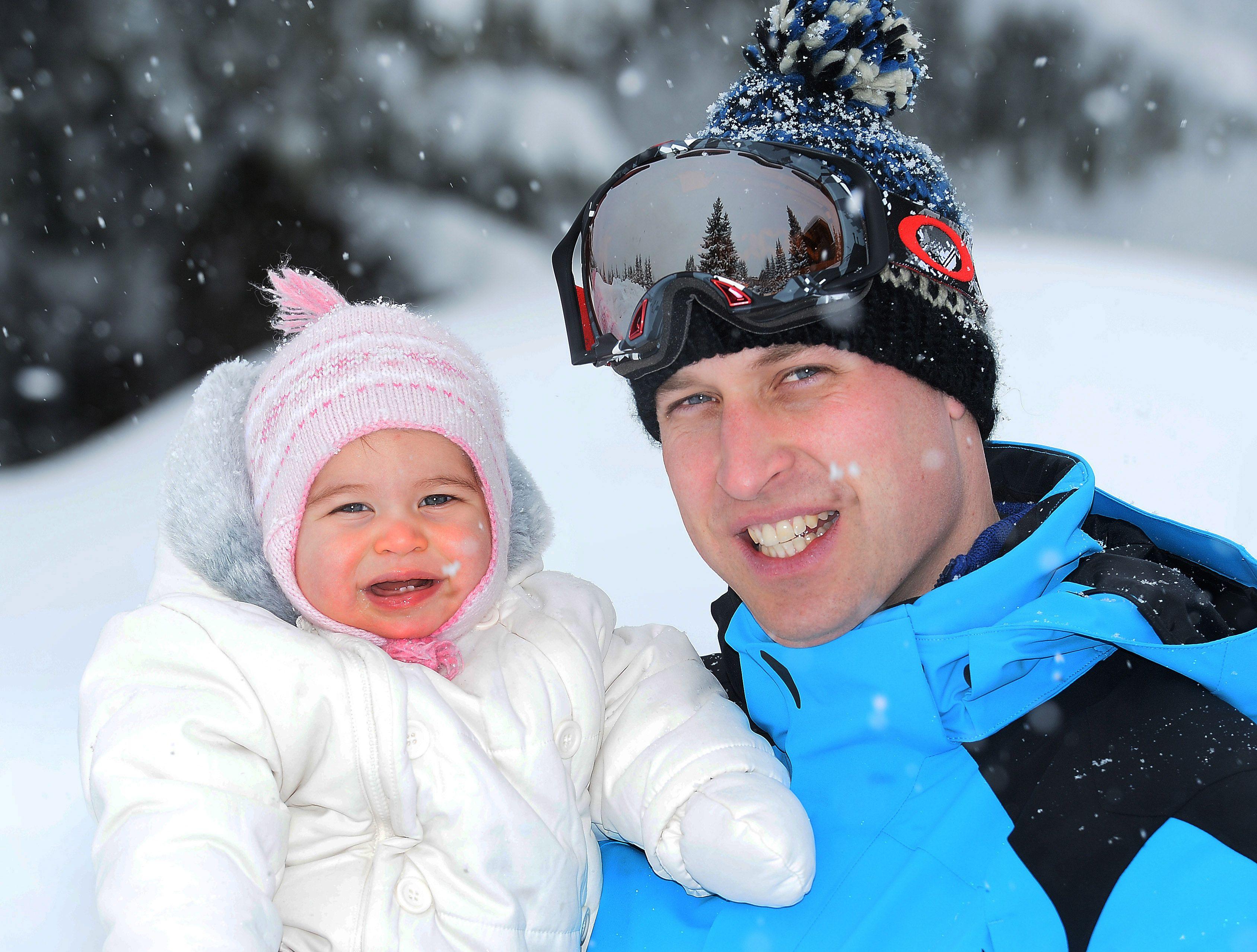The Duke and Duchess of Cambridge Enjoy Skiing Holiday