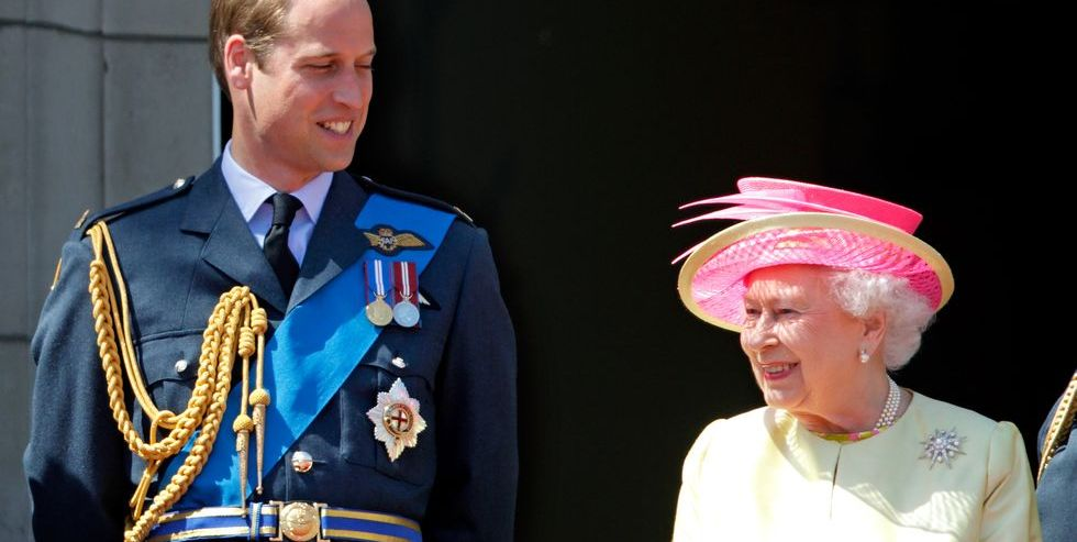 Queen Elizabeth Gives Prince William a…