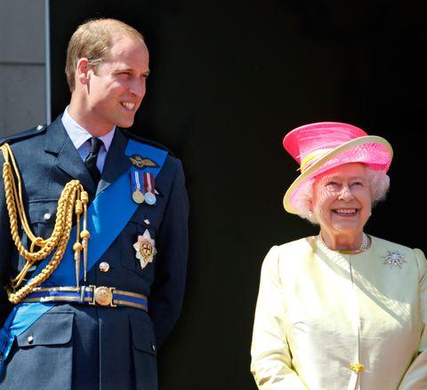 queen elizabeth prince william