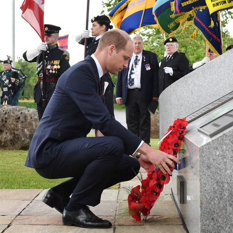 prince william king george vi speech Duke Of Cambridge Attends D-Day Commemoration Service In Staffordshire