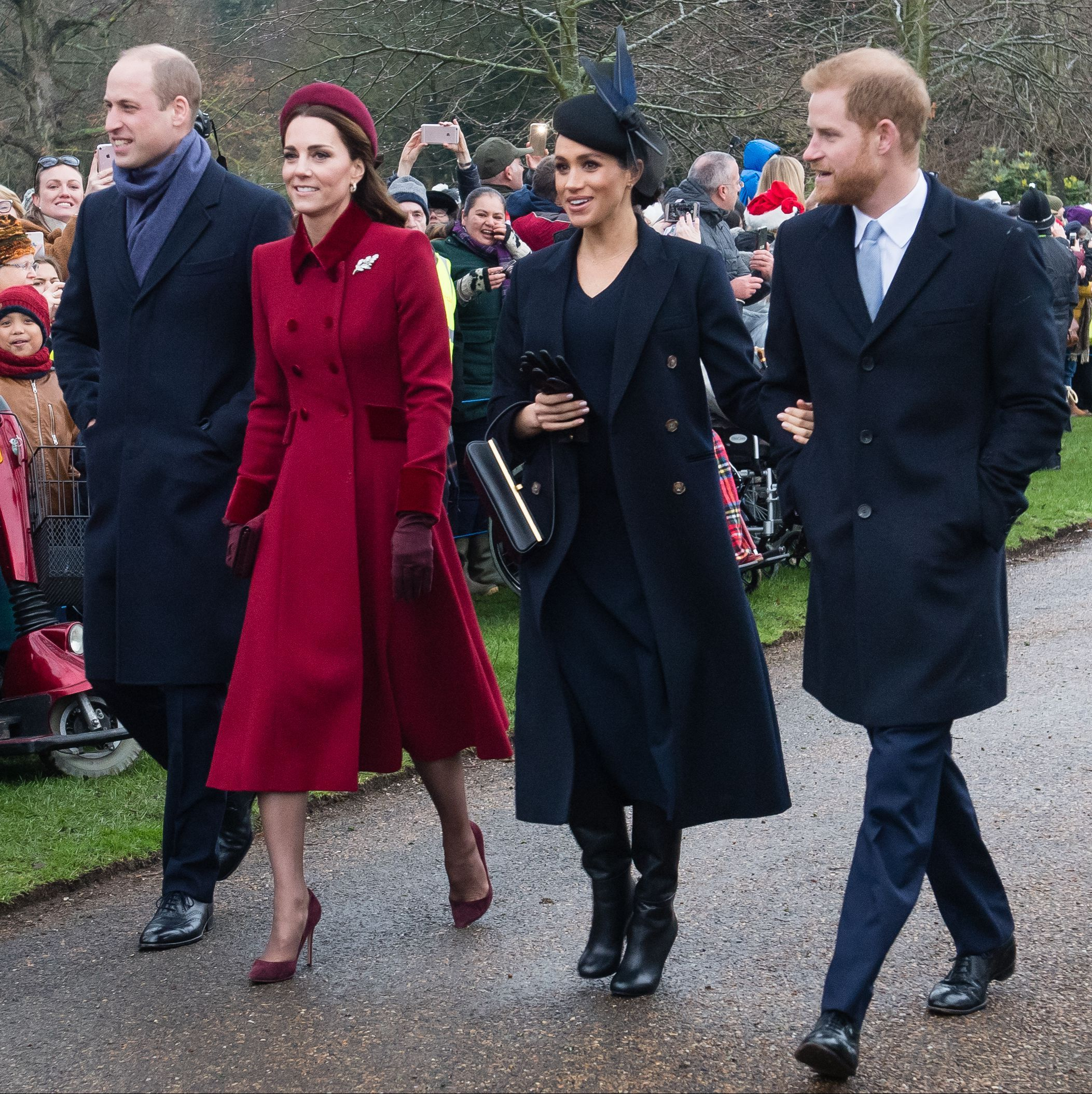 Prince Harry, Prince William, and Kate Middleton Will Meet With Donald Trump, But Meghan Markle Won't