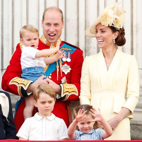 kate middleton prince louis prince george princess charlotte