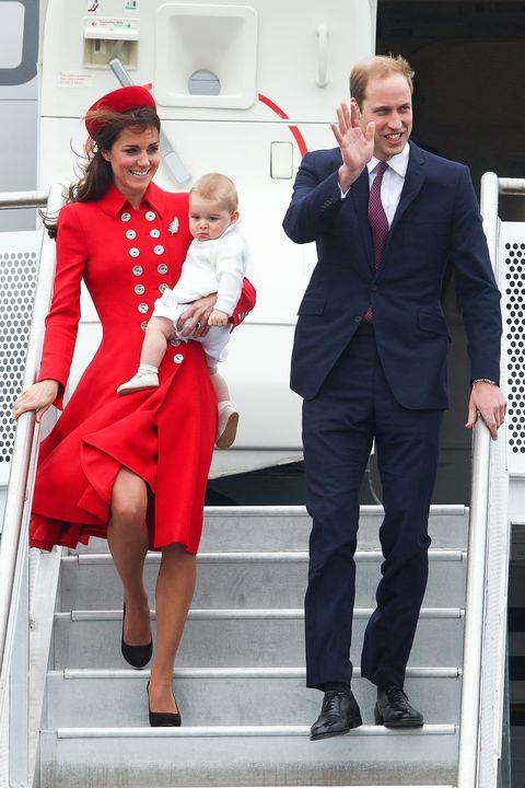 the duke and duchess of cambridge tour australia and new zealand   day 1