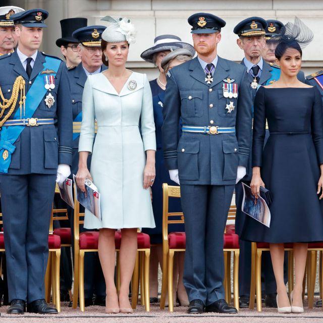ウィリアム王子 キャサリン妃 ヘンリー王子 メーガン妃 ロイヤルファミリー