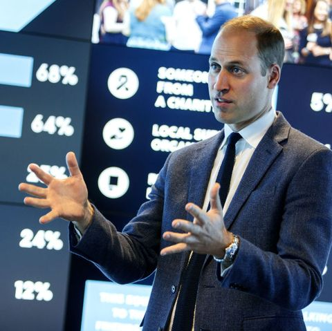 The Duke Of Cambridge Visits The Data Observatory