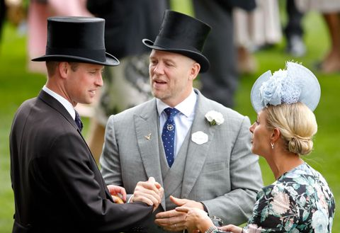 Mike Tindall reveals the reason he had the Queen and Princess Beatrice laughing at Ascot
