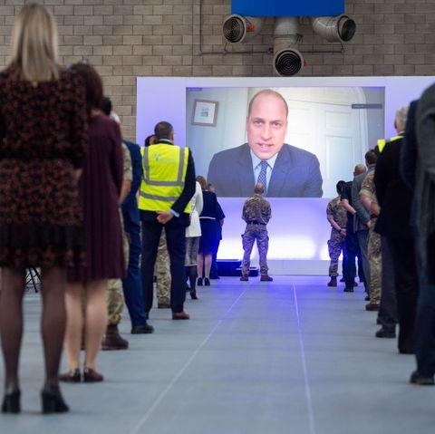 prince williamThe Duke Of Cambridge Opens The New NHS Nightingale Hospital In Birmingham