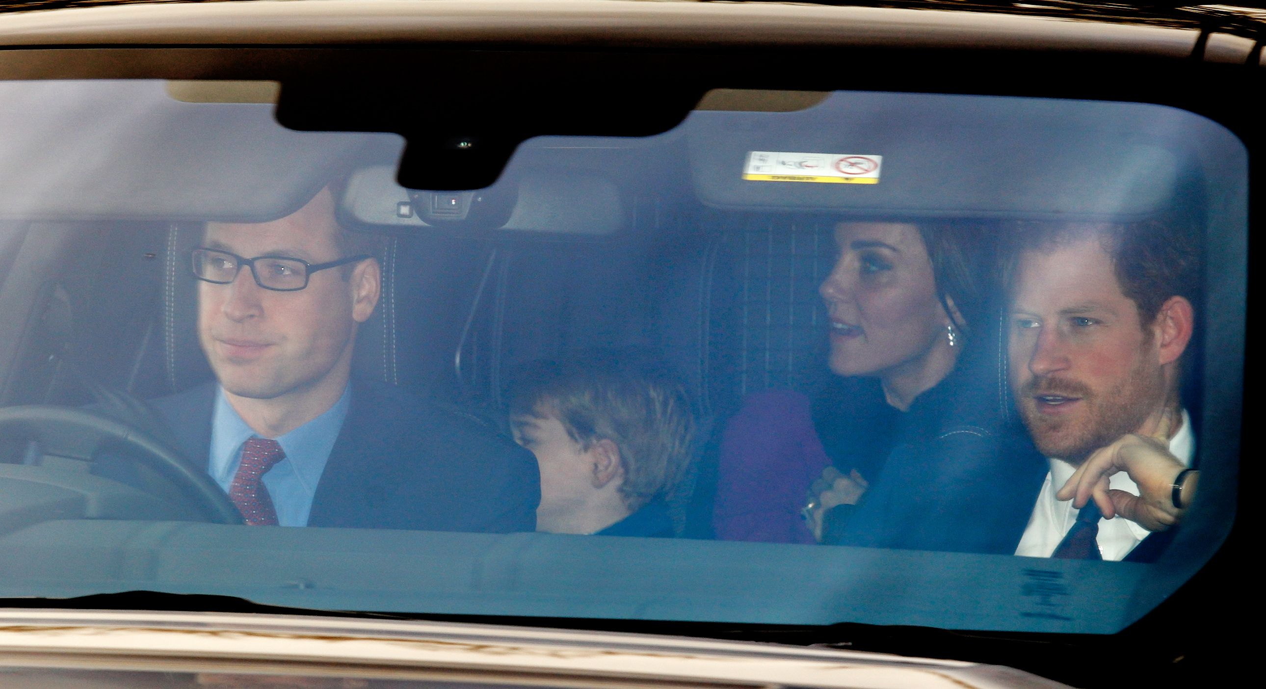 Annual Buckingham Palace Christmas Lunch Hosted By The Queen