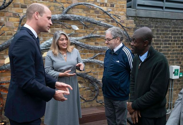 the duke of cambridge marks 40th anniversary of homeless charity the passage