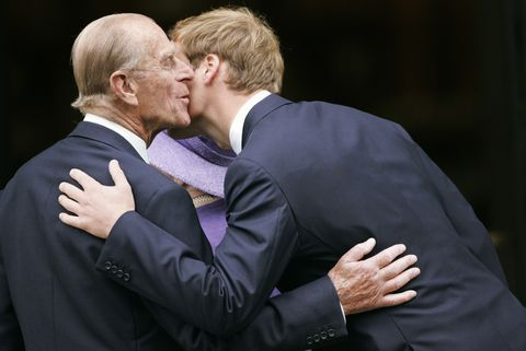 Prince Philip's life in pictures. 55
