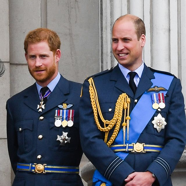 prince william, prince harry, financial separation