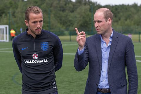 Prince William World Cup Harry Kane