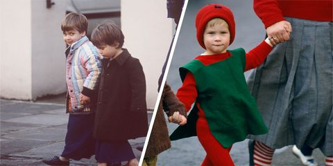 These adorable TBTs of Prince William and Prince Harry in their school nativities will make your heart sing