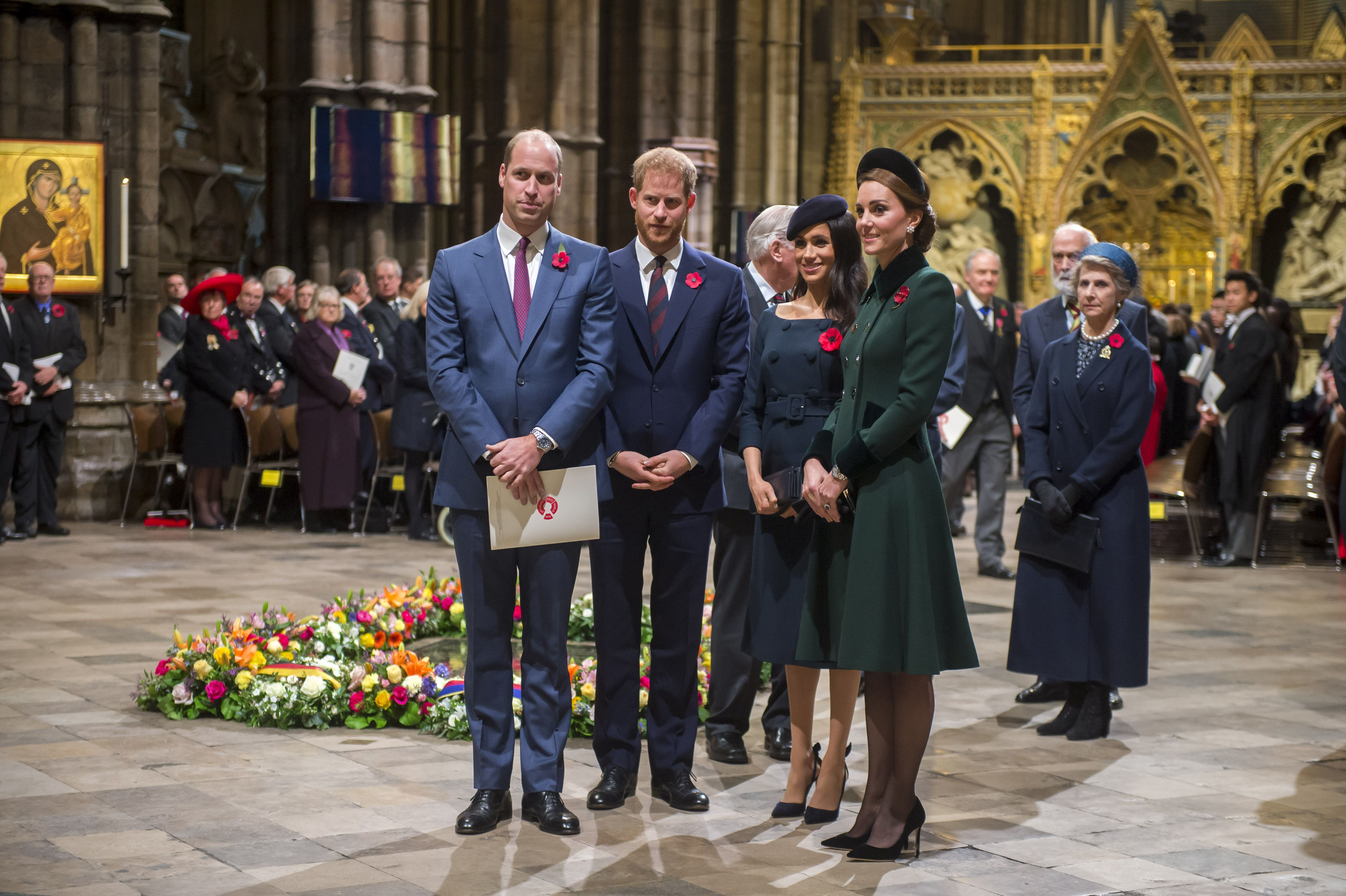 Why Prince William, Prince Harry and Meghan Markle missed last night's major royal event