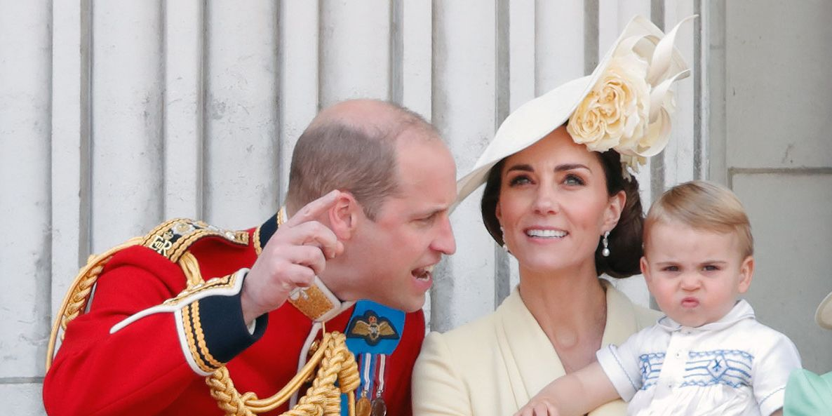 Prince Louis Hangs Up Prince William And Kate Middleton's Video Calls