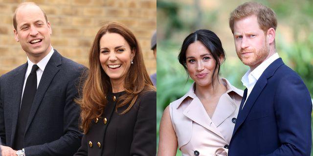 ウィリアム王 キャサリン妃 ロイヤルファミリー ヘンリー王子 メーガン妃 イギリス王室